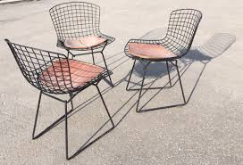 bertoia chairs just found these three smiling beauties sitting outside of a trailer today here in jackson knocked on the door made an offer to the nice