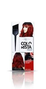 Semi Permanent Hair Dye Colour Chart Discover Colorista The Range Of Permanent Semi Permanent