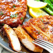 boneless pork chops with honey garlic