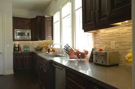 stone kitchen backsplash dark cabinets. Delighful Dark Kitchen Remarkable Stone Backsplash Dark Cabinets 3  In T