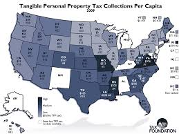 States Moving Away From Taxes On Tangible Personal Property
