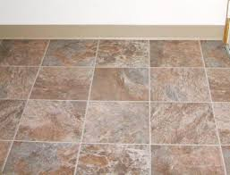 vinyl tile can cover particle board