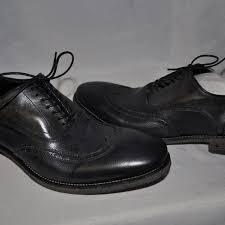 John Varvatos Fleetwood Wingtips Size 11