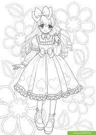 Top tranh tô màu công chúa Chibi được các bé yêu thích nhất - Jadiny