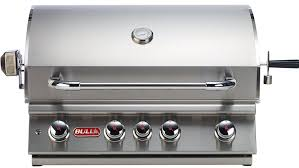 bull outdoor liquid propane built in grill stainless steel 47628