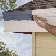 painting exterior trim. step 2 painting exterior trim