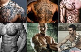 мужские татуировки выбор места и рисунка фото Super Mensru