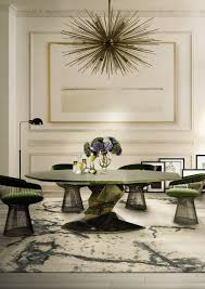 Get The Look  Mid Century Modern Glamorous Dining Room Rugs - Modern dining room rugs