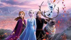 frozen 2 2019 poster elsa anna kristoff
