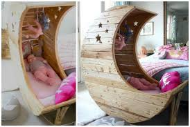 DIY Moon Cot Baby Cradle Crib [Picture Instructions]