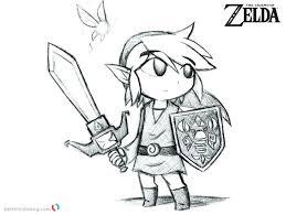 Zelda Coloring Pages Wonderful The Legend Zelda Coloring Pages