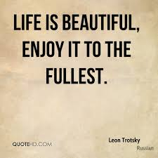 Life Is Beautiful Enjoy It Quotes