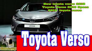 New toyota verso 2018 - Toyota Verso 2018 Specs - 2018 toyota ...