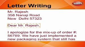 How To Write A Letter Letter Writing In English Writing Letters For Kids