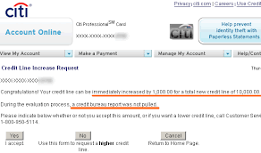Asking For Credit Line Increase How To Get An Instant Credit Limit Increase With Citibank My Money