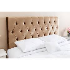 velvet headboard queen. Delighful Queen Shop Abbyson Connie Tufted Gold Velvet Headboard QueenFull  On Sale  Free Shipping Today Overstockcom 10990639 And Headboard Queen
