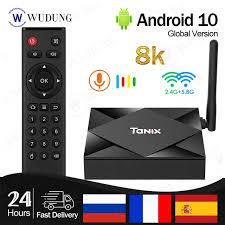 <b>Tanix TX6S Android 10.0</b> TV Box Allwinner H616 Chip 2.4&5.8G ...