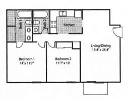 What Is The Average Size Of A 2 Bedroom Apartment B68 On Charming