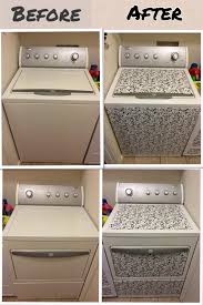 contact paper for furniture. New Look For Washer Dryer So Easy With Contact Paper My Furniture ,