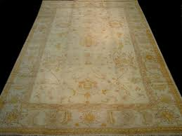 antique oushak rug 10 x 14 rn ou28035 circa 1930