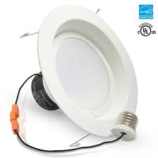 led recessed light fixtures torchstar 19watt 6 inch energy star ul listed dimmable retrofit led recessed