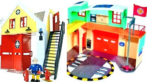 kidkraft deluxe fire station set everyday heroes wooden play