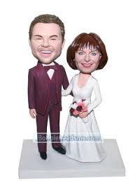 <b>Customized</b> Loving <b>Bobblehead</b> Dancing Groom And Bride ...