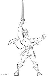 Small Picture Hercules coloring book pages 7 free Disney printables for kids