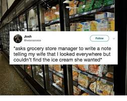 Josh Follow Asks Grocery Store Manager To Write A Note Telling My