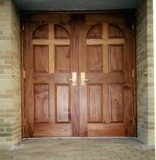 exterior wood church doors. choosing wood and finish for church doors exterior pinterest
