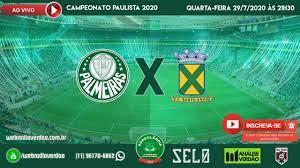 AO VIVO - Transmissão de Palmeiras x Santo André - Campeonato Paulista 2020  - YouTube