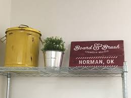 norman ok studio is set for grand opening board and brush and
