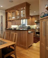 Natural Cherry Cabinets Natural Cherry Kitchen Cabinets In Kitchen Traditional With Bridge