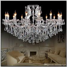 transpa large crystal chandeliers decoration fixture hotel maria theresa crystal pendant light for lobby foyer hanging lamp orb chandelier chandelier