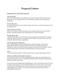 Sample Cover Letter For Proposal Zrom Tk How To Write A Business