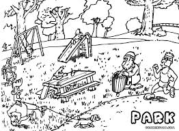 Park Coloring Page Jurassic Pages World Free And Cute Coloring For