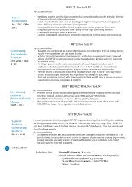 Production Manager Resumes Production Manager Resume