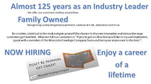 build your career at worcester envelope company build your career at worcester envelope company