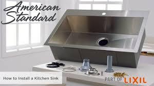 Raleigh 33x22 Kitchen Sink Kit American Standard