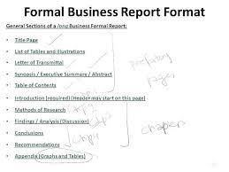 Short Report Format Template Zoro9terrainsco 253633960027 Formal