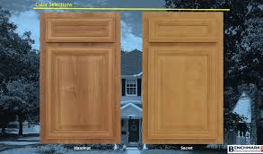 Kitchen Cabinet Wood Choices Select Cabinet Door Styles And Color Thermafoil Refacing