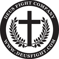 White Cross Logo Patch – DeusFight