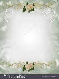 Wedding Invitation Templates With Photo Wedding Invitation Template Roses Royalty Free Stock Illustration