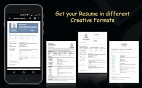 Creative Resume Creator Mobile Resume Creator 6 Important Reasons To Use A Resume Builder To