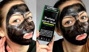 Black peel off mask hurts