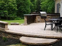 decorative concrete landscape design