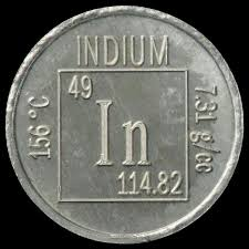 Facts, pictures, stories about the element Indium in the Periodic ...