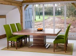 square extendable dining table. The Middleton Square Extending Central Pedestal Table In Solid Wild Walnut.Also Available With Rectangular Extendable Dining N