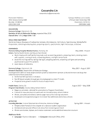 optometrist resume