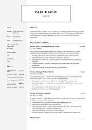 How To Make A Janitor Resume 12 Free Resume Samples Resumeviking Com